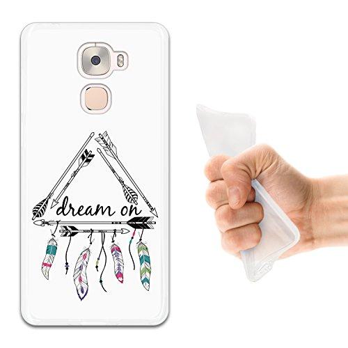 WoowCase LeTV LeEco Le Pro 3 Hülle, Handyhülle Silikon für [ LeTV LeEco Le Pro 3 ] Dream On Handytasche Handy Cover Case Schutzhülle Flexible TPU - Transparent