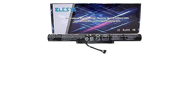 Hubei L14L4A01 Batterie dordinateur Portable pour Lenovo 500 500-15ACZ Z41 Z51 Z51-70 L14L4E01 L14M4A01 L14M4E01 L14S4A01 L14S4E01(14.88V 41Wh)