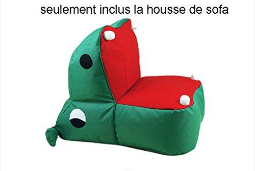 eutel Stuhl Britische Art Multifunktions DIY füllende Bohnen-Beutel-Sofa-Sätze (Deckung des Sofa) (Bohnen-werfen Spiel)