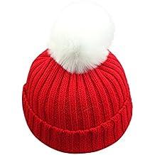 604ee9b5f4ac6 ... para las fiestas de Navidad. VENMO Bebé Niños niñas Invierno Gorro de  Punto Caliente Beanie Sombreros ...