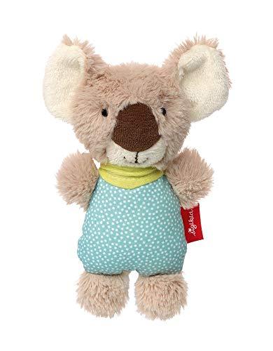 sigikid, Mädchen und Jungen, Greifling und Rassel Koala, Urban Baby Edition, Mehrfarbig, 39061