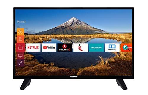 Telefunken XF32E411M 80 cm (32 Zoll) Fernseher (Full HD, Triple Tuner, Smart TV)