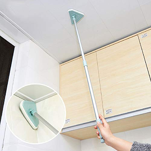 WC weiche Bürste saubere Bürste Schwamm Langen Griff einziehbare Badewanne Fliesen Bodenbürste dreieckige Glasbürste