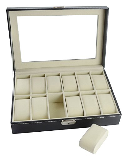 mayfield-plaza-12-slots-caja-de-reloj-negro