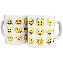 Mug Emoticonos Yellow Faces