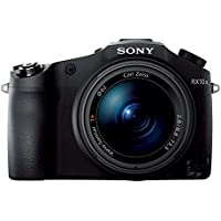 Sony DSC-RX10M2 Premium Bridge Kamera (20,2 Megapixel, 7,6 cm (3 Zoll) Display, 8-fach opt. Zoom, 4K UHD Videoaufnahme, 40x Slow-Motion, WiFi, NFC) inkl. 24-200 mm F2,8 Zeiss Objektiv schwarz