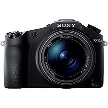"""Sony Cyber-shot DSC-RX10M2 - RX10 II- Cámara compacta de 20.2 Mp (Sensor de 1"""" Exmor RS con 20 MP, ZEISS T*24-240mm/F2.8, Visor XGA OLED, LCD inclinable, Wi-fi/NFC, estabilizador óptico), negro"""