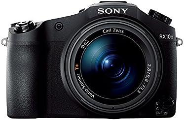 """Sony DSC-RX10M2 Fotocamera Digitale Cyber-shot, Sensore CMOS Exmor RS da 1"""" e 20,2 Megapixel, Obiettivo Zeiss Vario-Sonnar T* con Zoom Ottico 8,3x, Nero"""