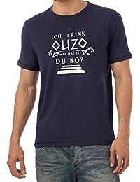 TEXLAB - Ich trink Ouzo, was machst du so? - Herren T-Shirt