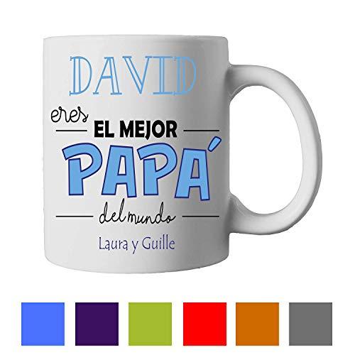 Regalo Original/Día del Padre/Papa/Taza Personalizada/Hombre/Chico/Cumpleaños/Original