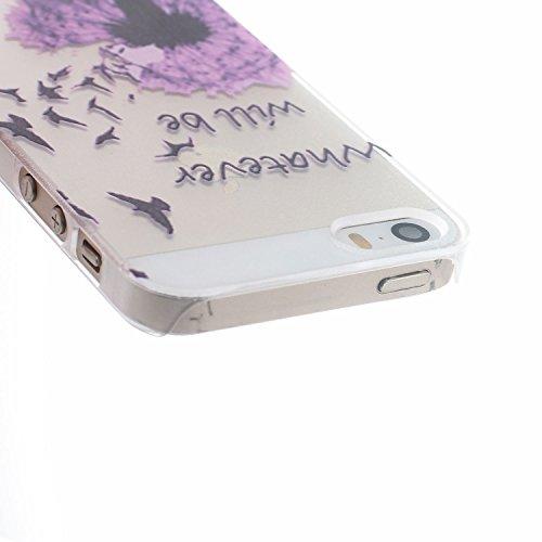 MOONCASE Etui pour Apple iPhone 5G / 5S Hard Housse Coque Case Etui Cover Shell X10 X09 #1214