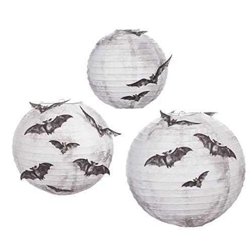 Martha Stewar Bat Moon Lanterns One Size farblos