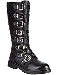 Amazon.it  stivali donna ecopelle - Stivali   Scarpe da donna ... 862f9b2a6b5
