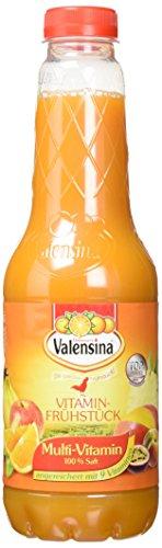 Valensina Multi-Vitamin 100% Saft, 6er Pack (6 x 1 Liter)