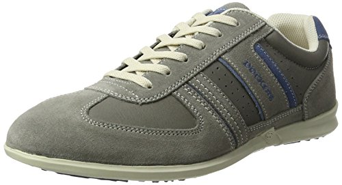 Dockers by Gerli Herren 34sa801-201 Sneaker, Grau (Grau/Blau), 40 EU