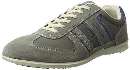 Dockers by Gerli Herren 34sa801-201 Sneaker, Grau/Blau, 47 EU (Schuhe Dockers On Slip)