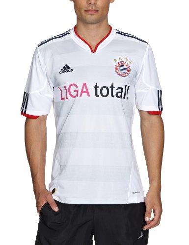 Grey Away Trikot (adidas Herren Trikot FC Bayern Away, white-light grey/light grey, L, P95817)