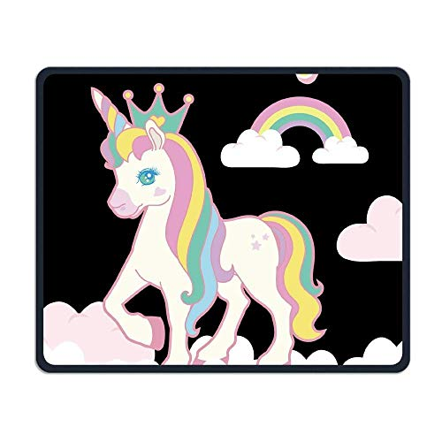 Happy Birthday Unicorn Smooth Nice Personality Design Mobile Gaming Mouse Pad Work Mouse Pad Office Pad
