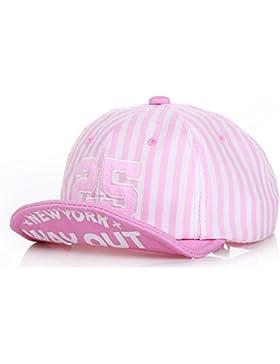 Roffatide Niños Niñas Algodón Malla Gorra de Béisbol Verano Al Aire Libre Ajustable Sombrero de Sol