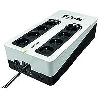 Onduleur Eaton 3S 700 FR - Off-line UPS - 3S700F - 700VA (8 prises FR) Noir/Blanc