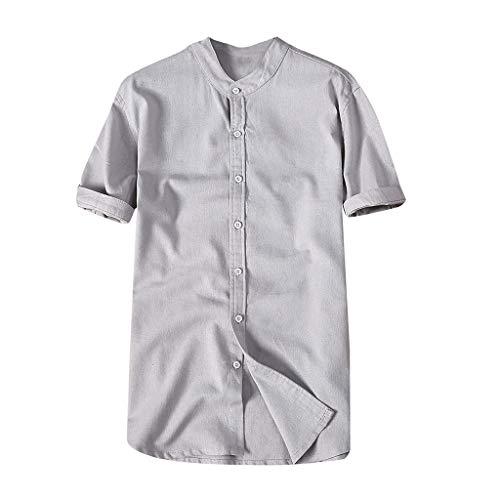 Herren T-Shirt Einfarbig Revers Kurzarm Hemd Lässig Sommer Neue Patternless Kurzarm Jugend Sport Komfort Fitness Top
