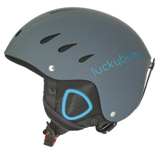 lucky-bums-snow-sport-helmet-for-skiing-and-snowboarding-matte-steel-and-blue-x-large-by-lucky-bums