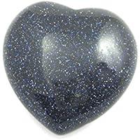 Herz Blaufluss (Kunstglas) 35 mm preisvergleich bei billige-tabletten.eu