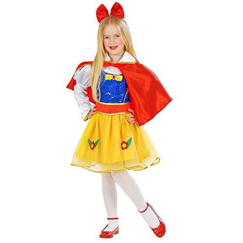 WIDMANN - Princesas de las Favole - Disfraz para niños, multicolor, 98 cm / 1-2 años, 49188