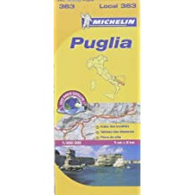 Michelin Local Italie 363 PUGLIA 1/200 000