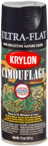 Krylon Camouflage Paint with Fusion Technology (Black)