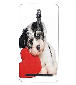 ASUS ZENFONE 2 CUTE DOG Designer Back Cover Case By PRINTSWAG