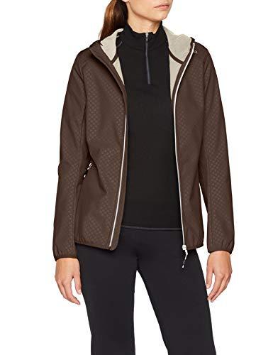 CMP Damen Softshell Jacke, Arabica, 38 (Jacke Winter Polo Damen)