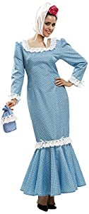 My Other Me Me - Disfraz de madrileña para mujer, talla S, color azul (Viving Costumes MOM02320)