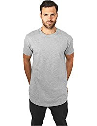 T-Shirt long Homme avec manches courtes Col rond - Urban Classics Shaped Long Tee