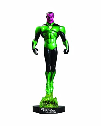 GREEN LANTERN Emerald Knights DVD - Marvel - Statuette Sinestro 29 cm