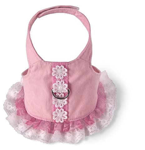 Doggles Dog Harness Dress, Pink, Teacup by Doggles