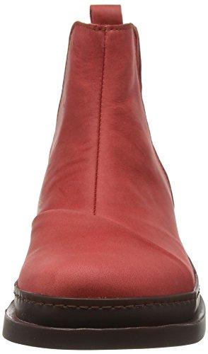 Art  Bonn Classic, Bottes Chelsea femme Rouge (Olio Amarante)