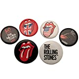 Rolling Stones The Set di spille rotonde (Taglia unica) (Multicolore)