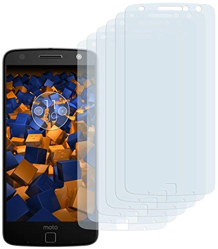 mumbi Schutzfolie kompatibel mit Lenovo Moto Z Folie klar, Bildschirmschutzfolie (6x)