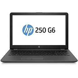 """HP 250 G6 Notebook PC, Intel Core i5-7200U, RAM da 4 GB DDR4, HDD SATA da 500 GB, Display da 15.6"""", Argento/Cenere Scuro"""