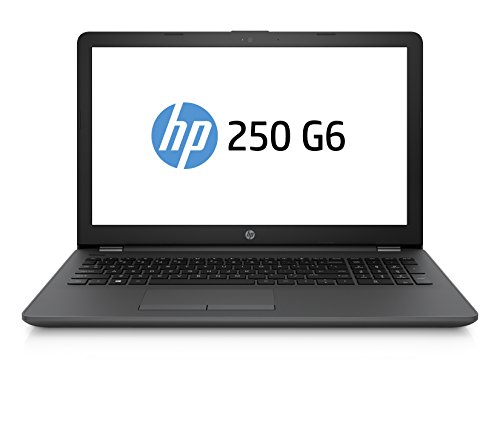 HP 250 G6 Notebook PC, Intel Core i5-7200U, RAM da 4 GB DDR4, HDD SATA da 500 GB, Display da 15.6, Argento/Cenere Scuro