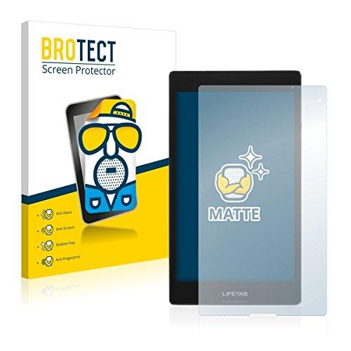 2X BROTECT Matt Displayschutz Schutzfolie für Medion Lifetab S8312 (MD98989) (matt - entspiegelt, Kratzfest, schmutzabweisend)