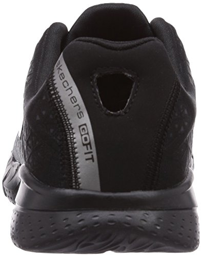 Skechers Go Fit 2 Presto, Baskets mode femme Noir (Bbk)