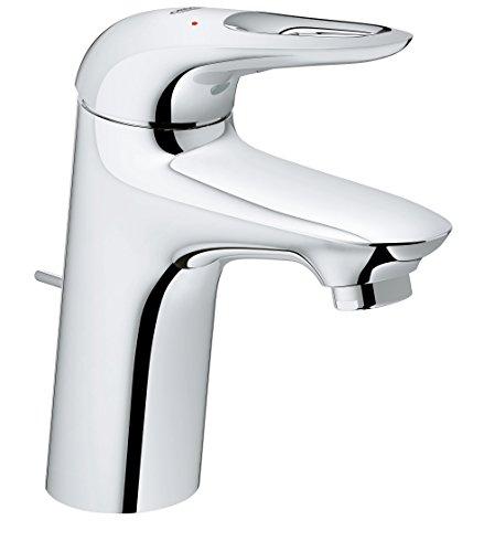 Grohe 2356530l Eurostyle Waschtisch-Einhand-Einlochbatterie mit Ablaufgarnitur–Standard Höhe, chrom