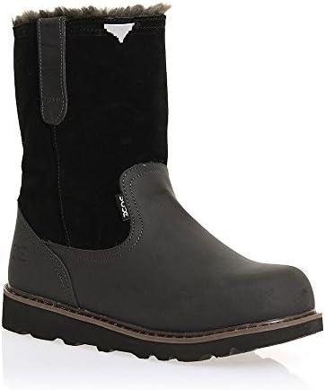 Dude Shoes Men's Vigo Easy Life Black Leather Work Boot