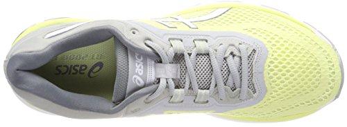 Asics Damen Gt-2000 6 Laufschuhe, Rosa Gelb (Limelightwhitemid Grey 8501)