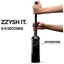 zzysh® Wein Starter Set. Verschliesst Wein und schützt ihn vor Aroma- und Geschmacksverlust nach dem Öffnen.