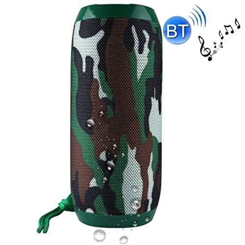 HaiQianXin Tragbarer Bluetooth-Stereo-Lautsprecher-Player Wireless 4.1Waterproof Outdoor Stereo Bass FM Radio Outdoor Stereo-Lautsprecher mit HD-Audio und verbessertem Bass/TF/USB/AUX