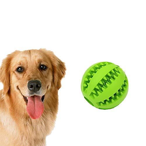 Fliyeong Pet Toy Ball, Nicht giftig Biss resistenter Toy Ball für Hunde Welpen, Hundefutter behandeln Feeder Zahnreinigung Ball, Hunde Übung Spiel Ball IQ Trainingsball -