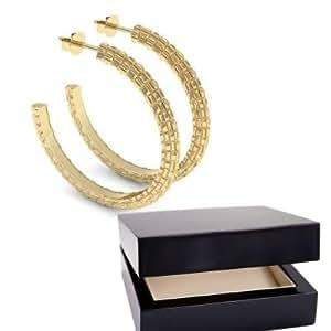 creolen gro gold ohrringe 750 inkl luxusetui. Black Bedroom Furniture Sets. Home Design Ideas